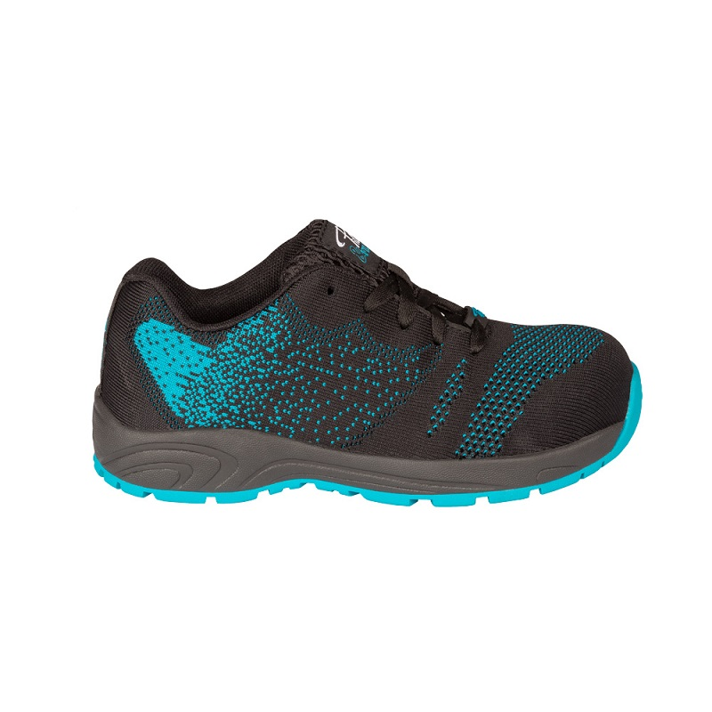e1b0b861439c Safety running shoe for women│Turquoise│P F Workwear│PF636