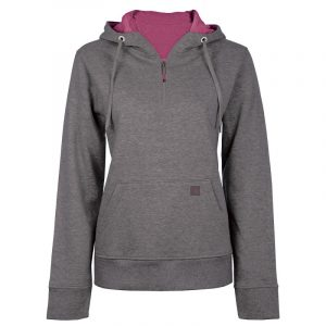 Hoodie for women | Charcoal Grey | P&F Workwear | PF462