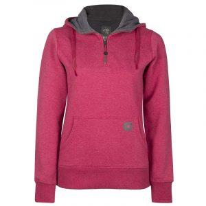 Hoodie for women | Raspberry | P&F Workwear | PF462