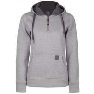 Hoodie for women | Light grey | P&F Workwear | PF462