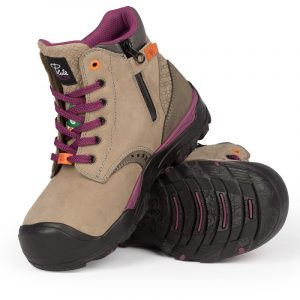 Waterproof work boots for women | Grey | P&F Workwear | PF646