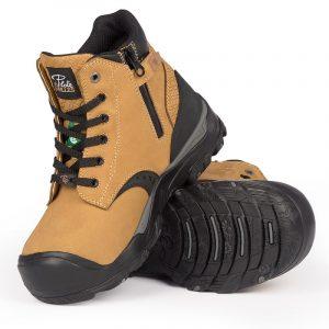 Waterproof work boots for women | Tan | P&F Workwear | PF646
