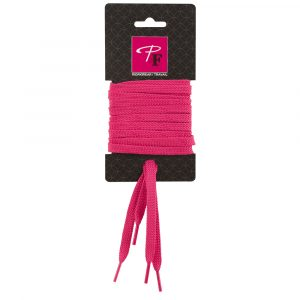 Flat laces for P&F Workwear safety boots and shoes | Fushia | PF2