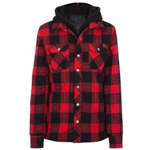 Padded work shirt for women | Red | P&F Workwear | PF415