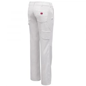 Painter's pant for women | White | P&F Workwear | PF890
