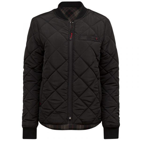 Manteau de réfrigération réversible pour femme | Noir-Kaki | Pilote et Filles | PF485