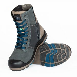 Work boots with zipper for women | Navy | P&F Workwear | PF368