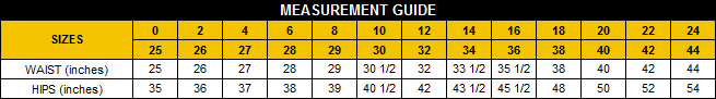 Measurement guide_PF pants