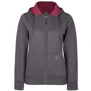 Hoodie for women | Charcoal Grey | P&F Workwear | PF464