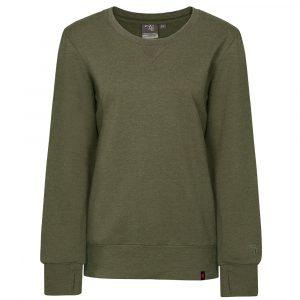 Round neck jersey for women | Khaki | P&F Workwear | PF467