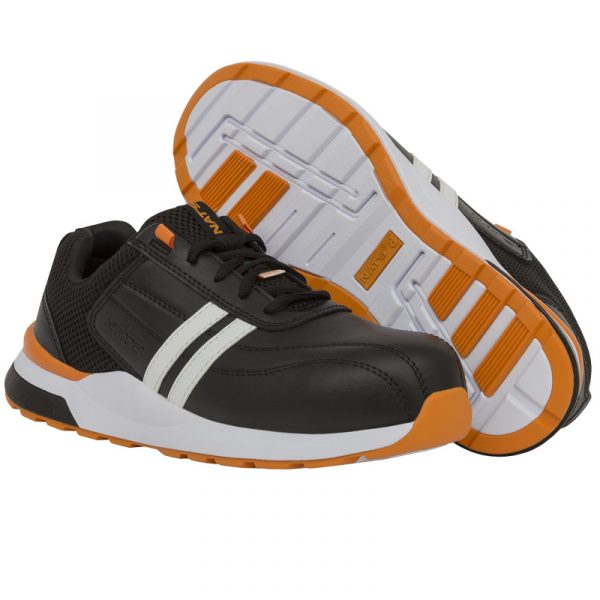 Safety running shoe for men | Orange | NAT'S | S510