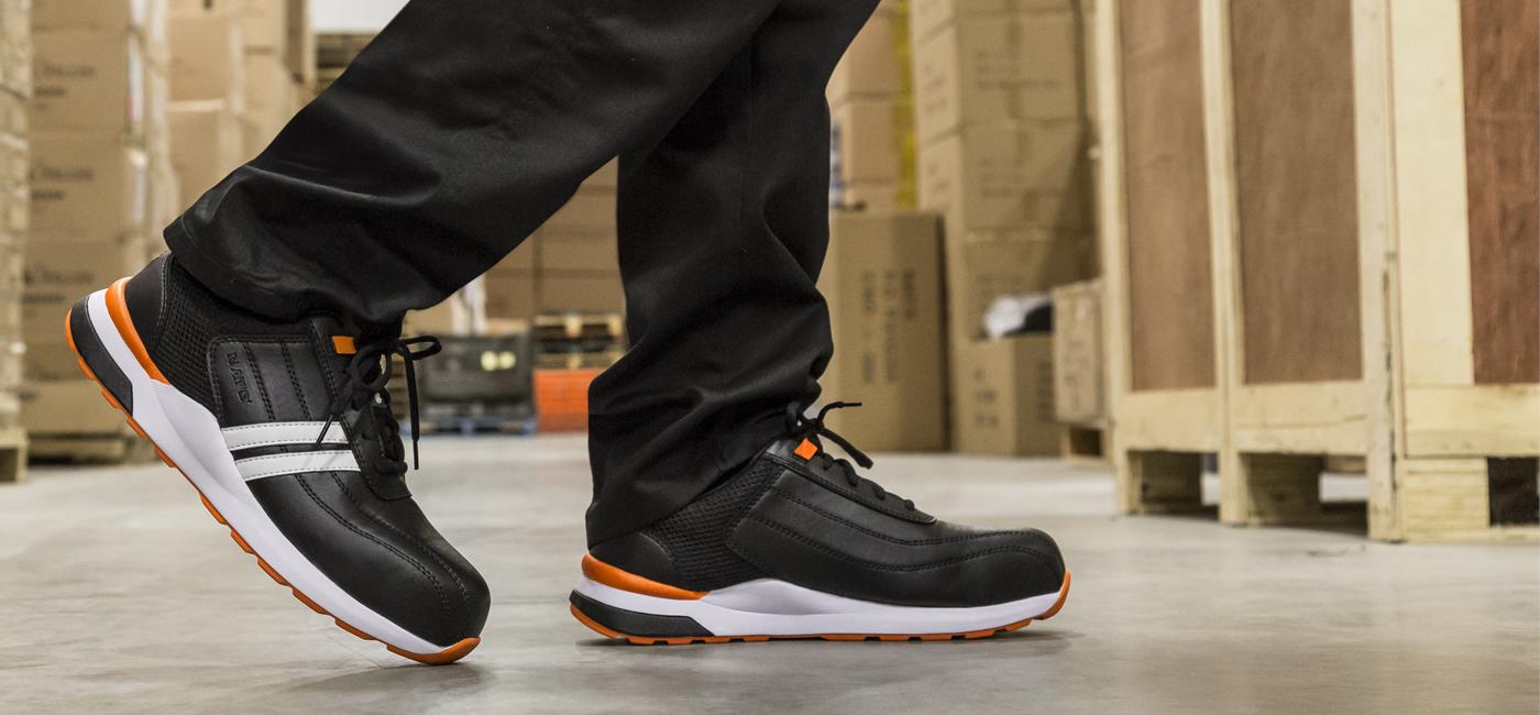 Soulier de sécurité ultra léger pour homme   Orange   NAT'S   S510