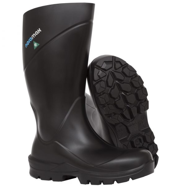 Waterproof safety boots for women | Black | PF135