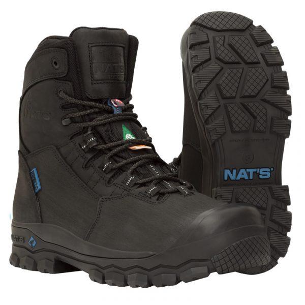 Winter safety boots for men | Black| NAT'S | S627