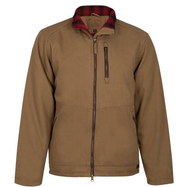 Manteau isolé en canevas pour homme │Tan │NAT'S│WK615