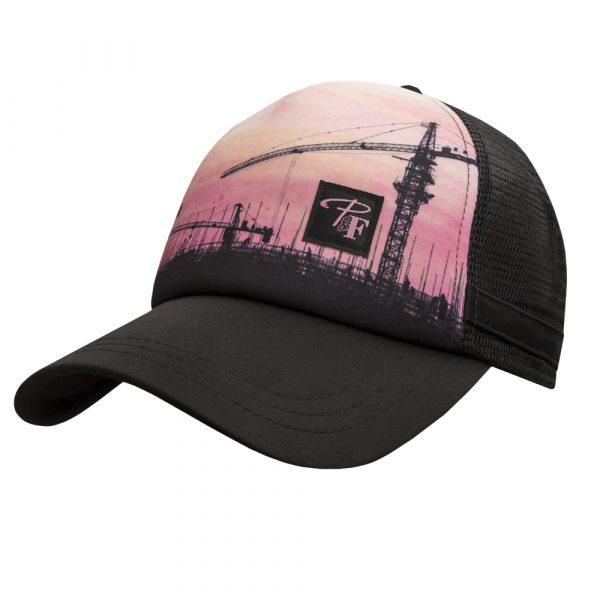 Trucker style hat for women | Pink | P&F Workwear | PF107