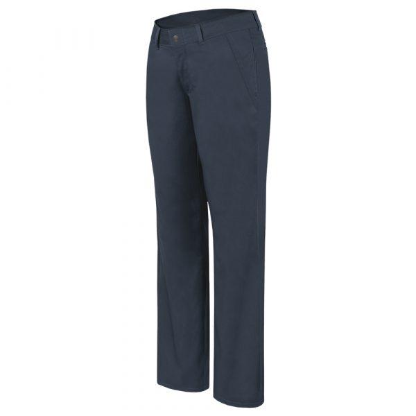 Pantalon de travail doublé avec taille élastique pour femme | Marine | Pilote et Filles | PF808